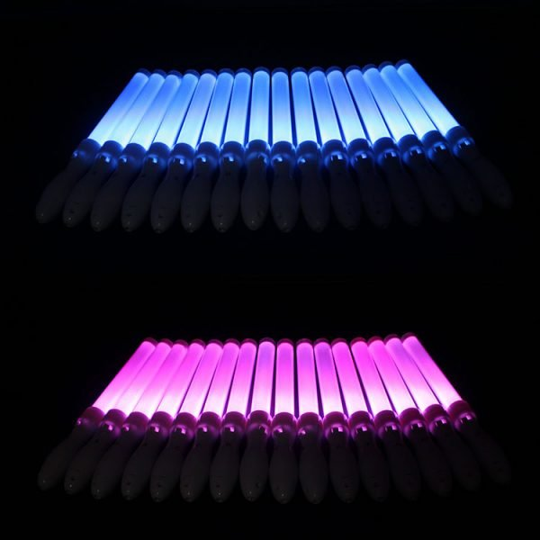 Remote controlled LED glow stick