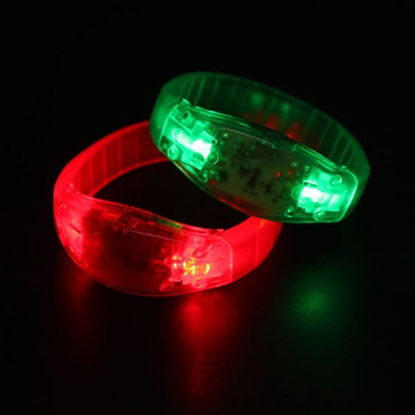 Sound activated bracelet