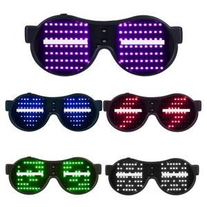 LED animation glasses