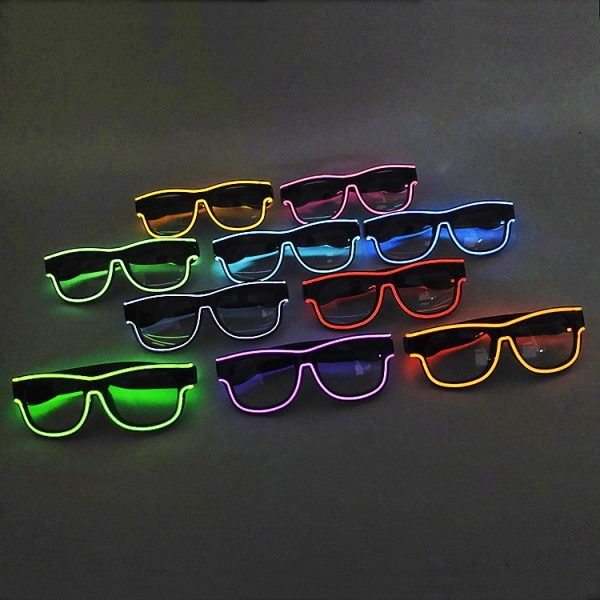 EL rave glasses