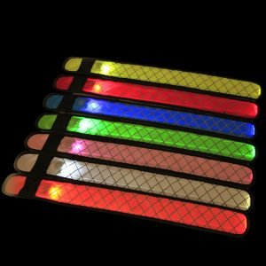 LED slap band