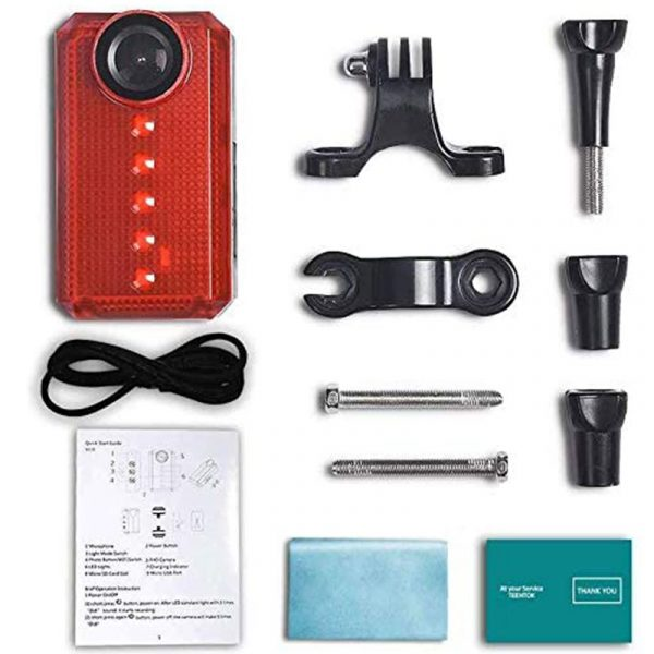 Package of Front bike camera